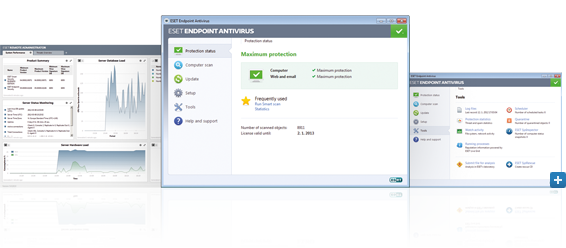 Open Screenshot Gallery for ESET Endpoint Antivirus